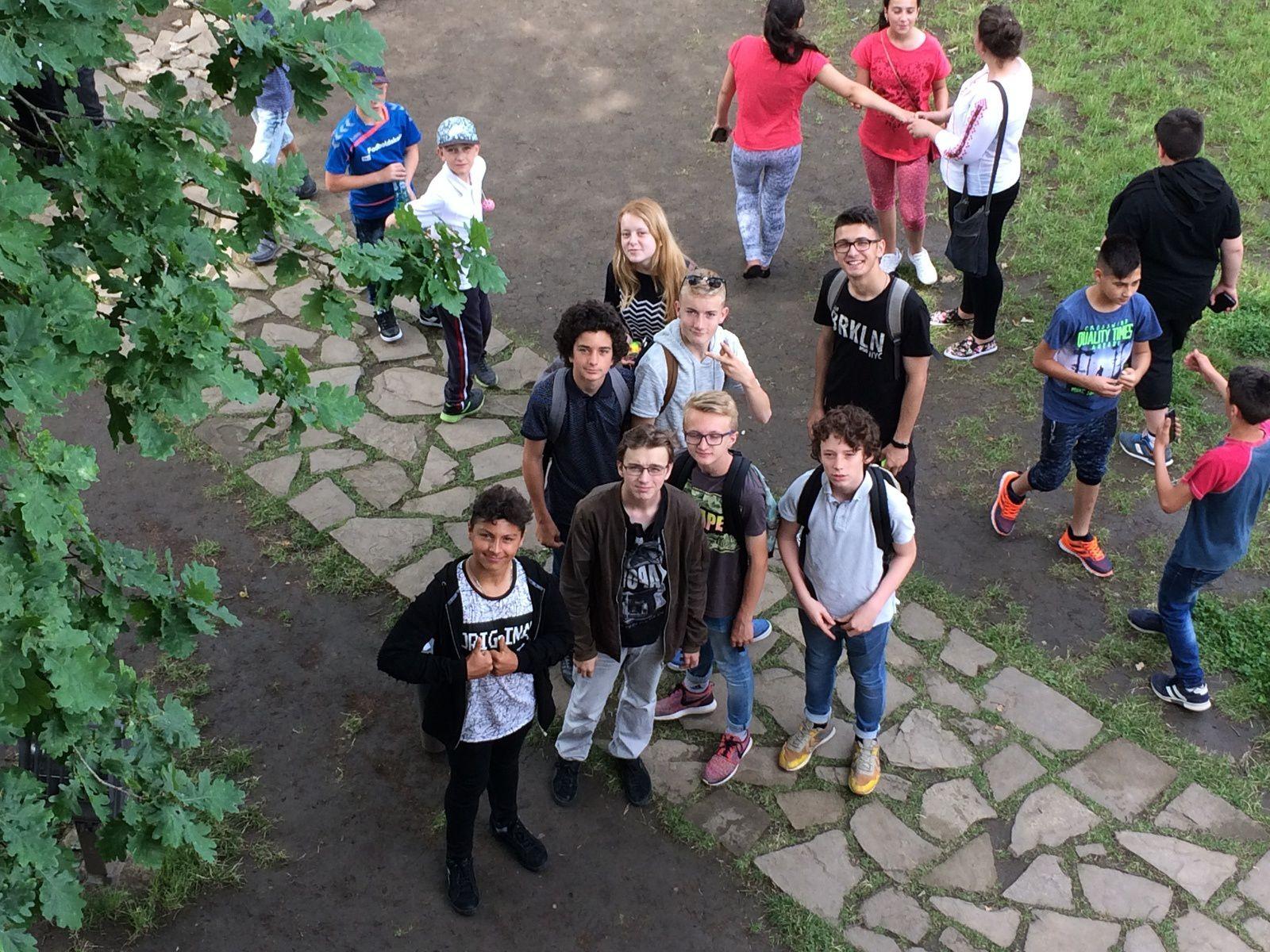 Les Carpates, terre d'amitié pour nos 4è erasmus+