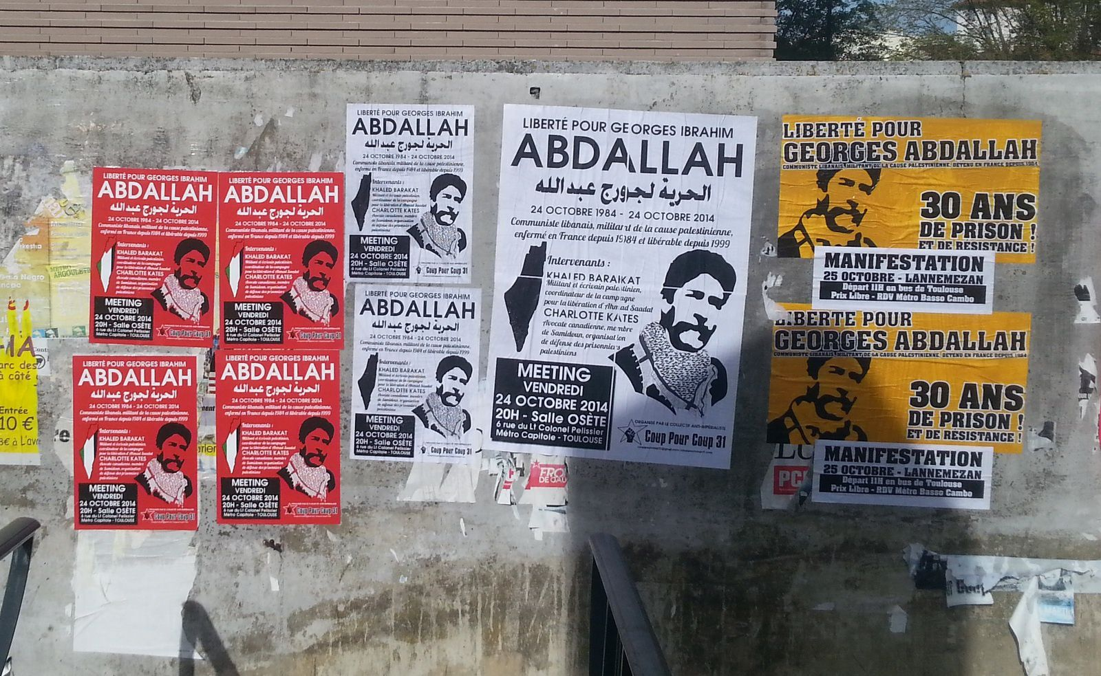 Ensemble, faisons sortir Georges Abdallah !
