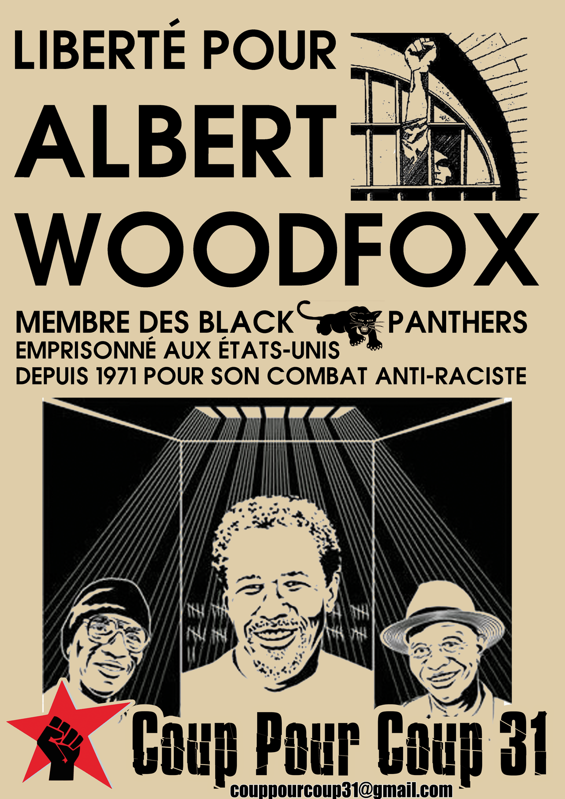 Liberation campaign for Albert Woodfox