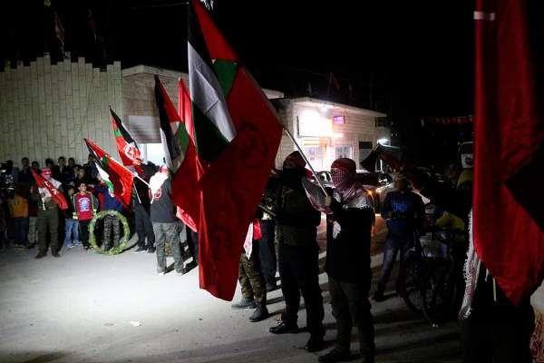 Manifestation à Ramallah, en Cisjordanie, le 11 décembre 2015.