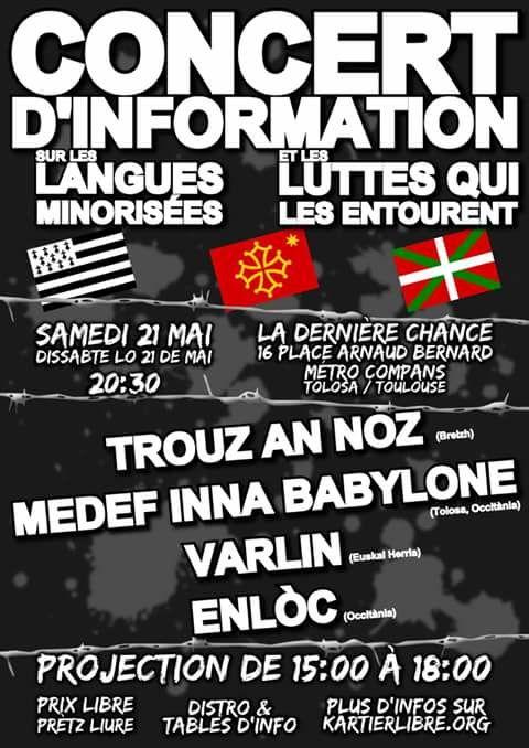 Concert d'information sur les langues minorisées