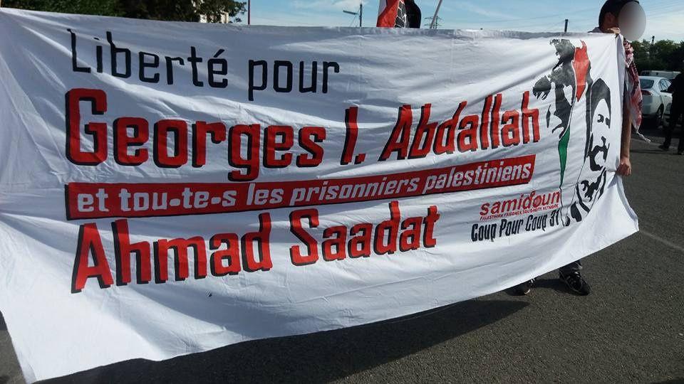 Plus de 400 personnes à Lannemezan pour la libération de Georges Abdallah !