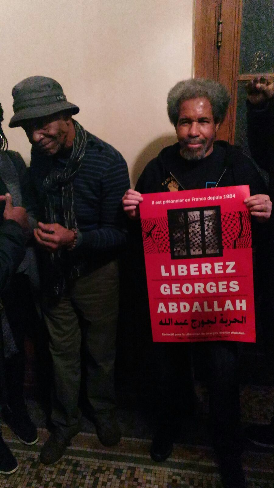 Albert Woodfox et Robert King solidaires avec Georges Abdallah !