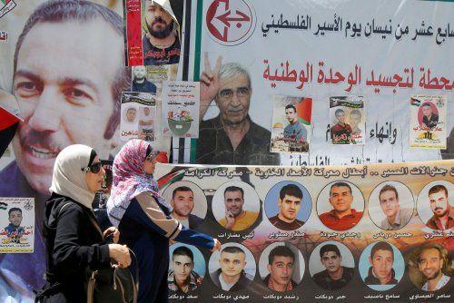 40 jours de grève de la faim pour les Prisonniers Palestiniens !