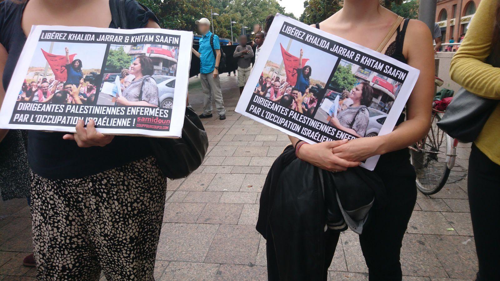 A Toulouse, rassemblement pour la levée du blocus de Gaza !