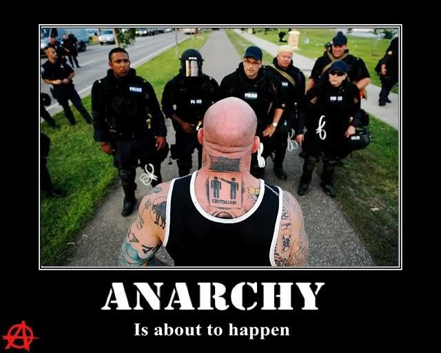 Anarchy is about to happen