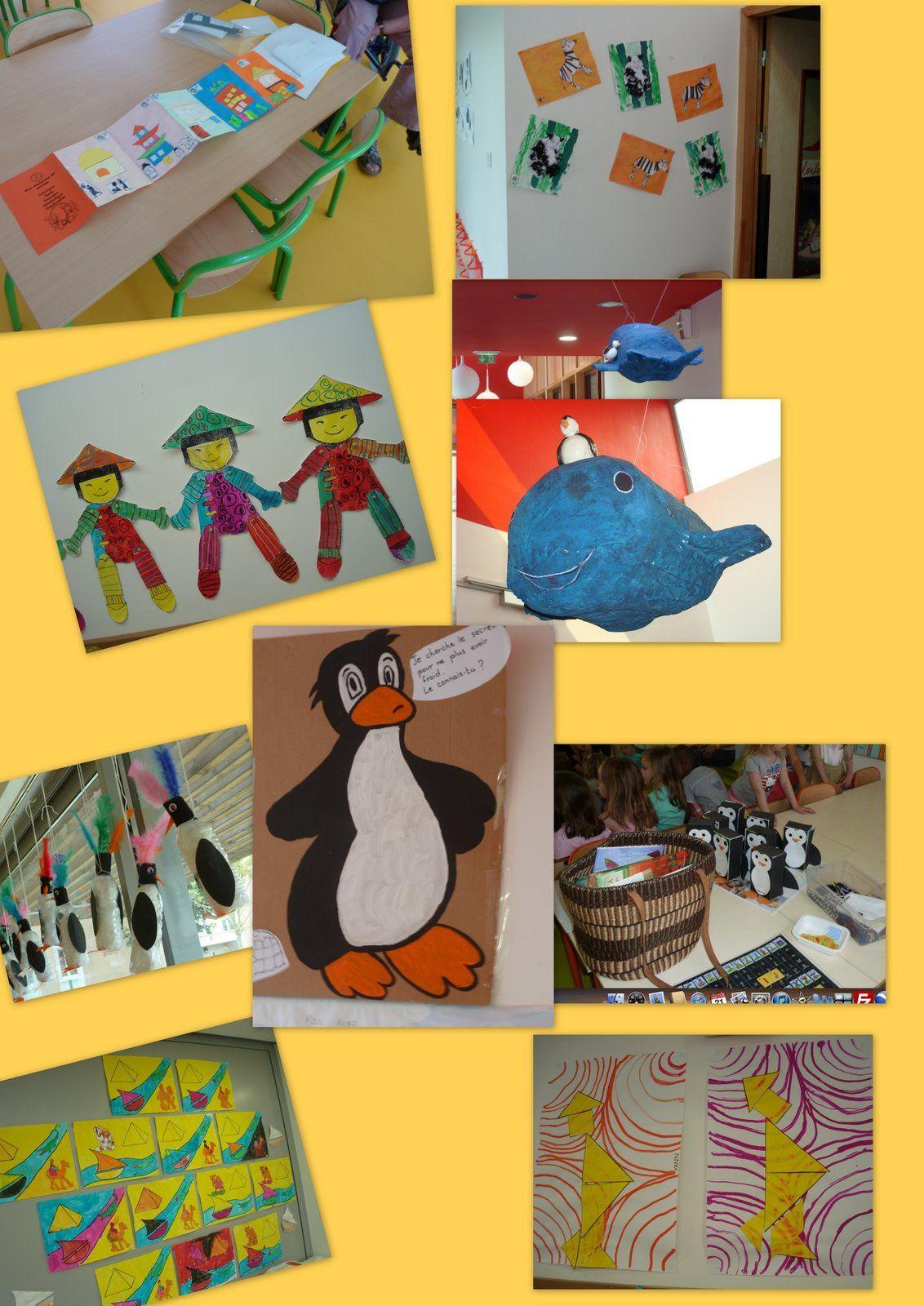 Petit Pingouin à l'école Maternelle de Gérard Reillon Bois D'Arcy 2