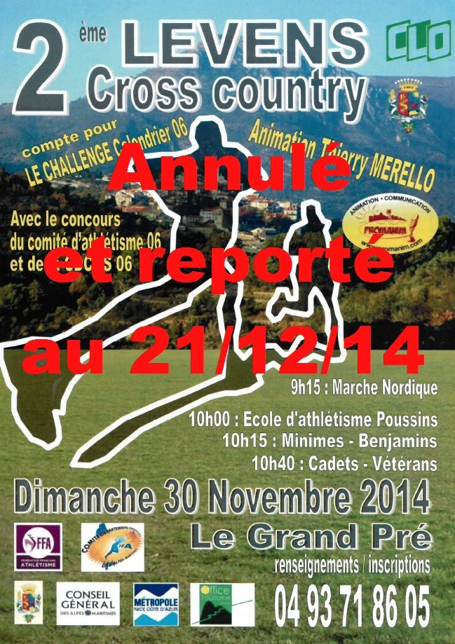 2ème Cross Country à Levens