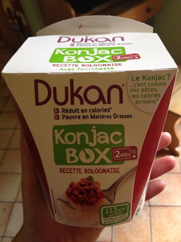 Test des shiritakis de konjac (box dukan)  - article sponsorisé