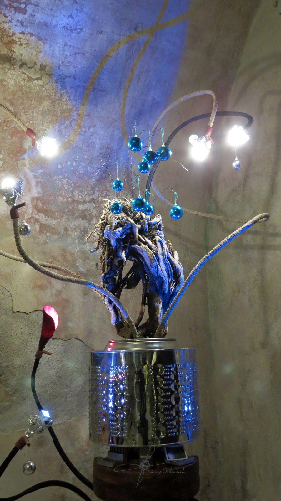"""Structure en """"arbre de Noël"""". T.O."""