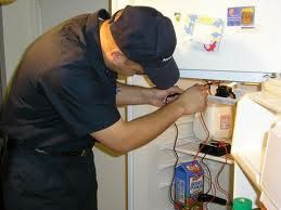 Refrigerator repair Bangalore Image Hai this is dail and search iam going to explain Fridge repair.Today we are going to show you how to change the water inlet valve kit in your refrigerator. Pretty easy job, you need a quarter inch nut driver and a sharp utility knife. Let me show you how it's done.your first step is to gain access to the interior of the control housing next remove the thermostat control kno release the old thermostat from the housing along with the temperature sensing tube taking note of their position disconnect the wires you're now ready to install the new temperature control thermostat first straighten out the sensing tube and if applicable transfer the insulator from the old sensing tube to the new one connect the wires insert the new thermostat into place and conform the sensing tube to fit the housing replace the thermostat knob reposition and secure the control housing.you're now ready to plug the appliance back in to make sure it's functioning properly.Readmore www.dialandsearch.com
