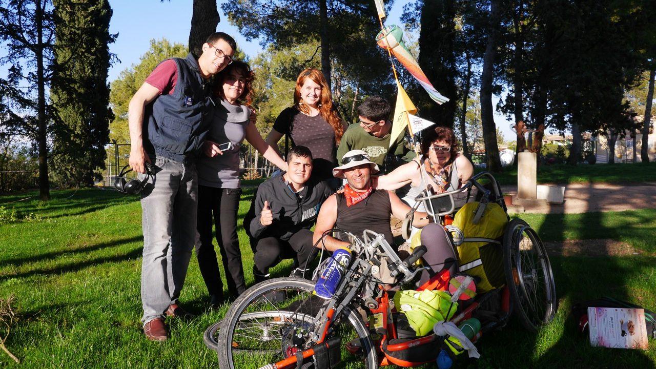 """A la """"Casa Nostra"""" centre pour handicapés"""