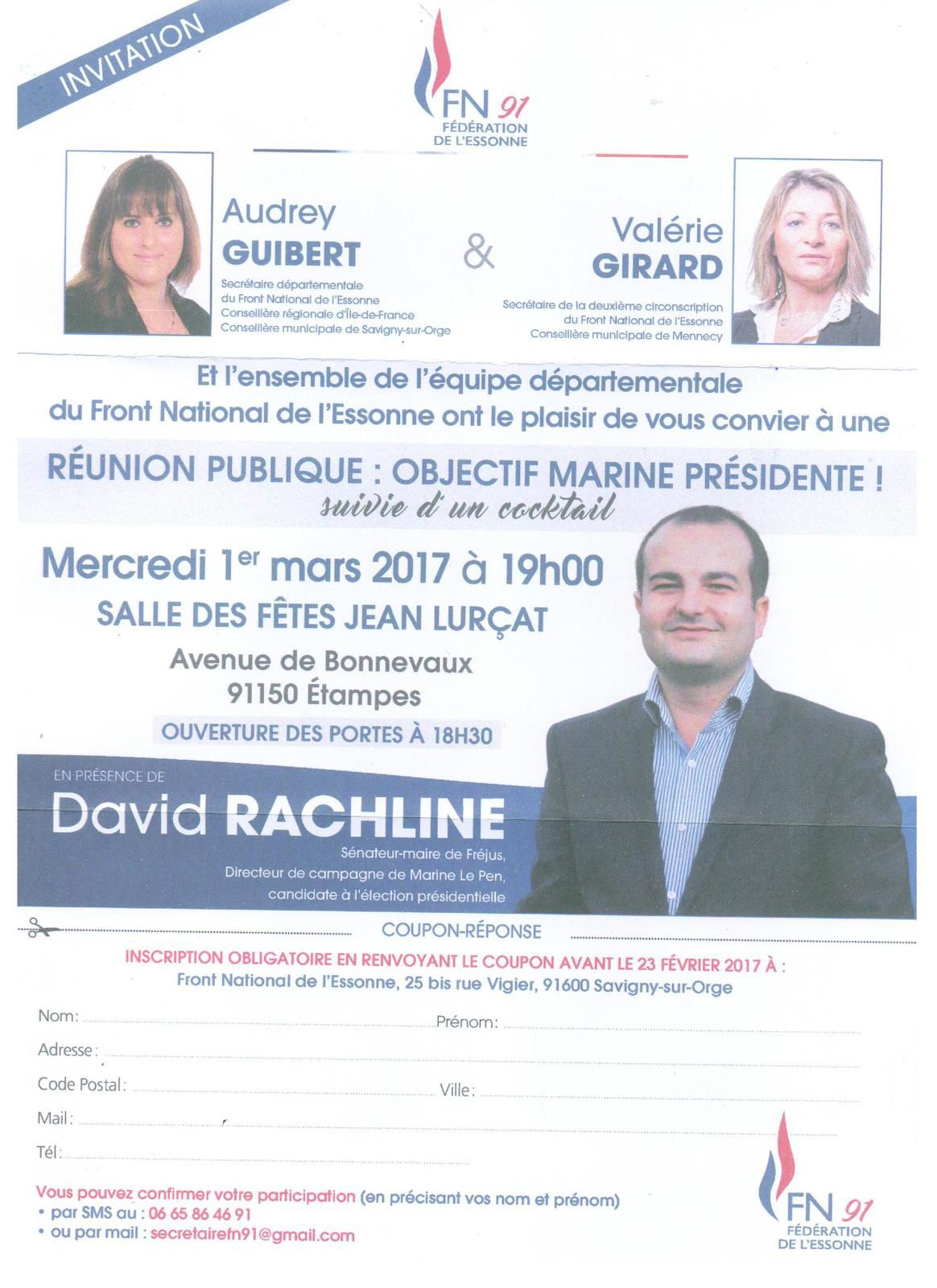 MEETING AVEC DAVID RACHLINE A ETAMPES !