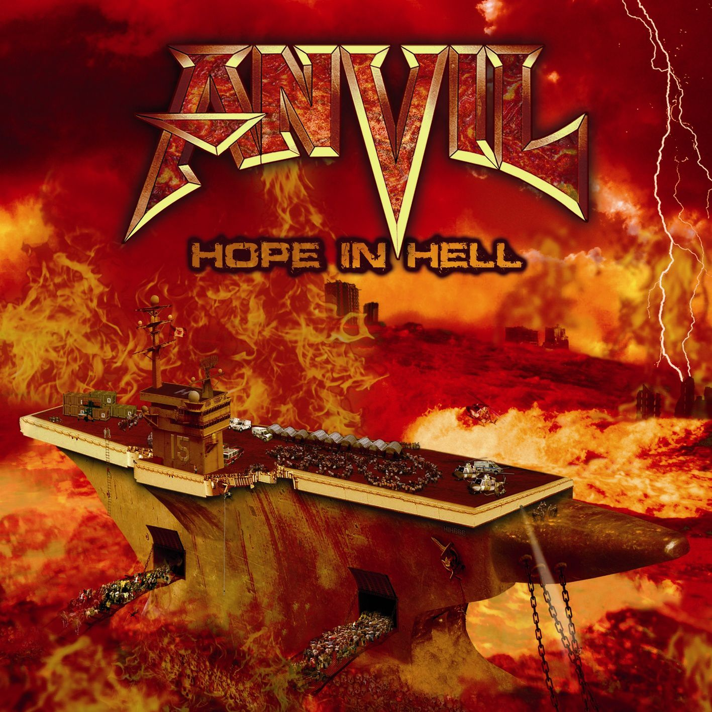 "CD review ANVIL ""Hope in hell"""