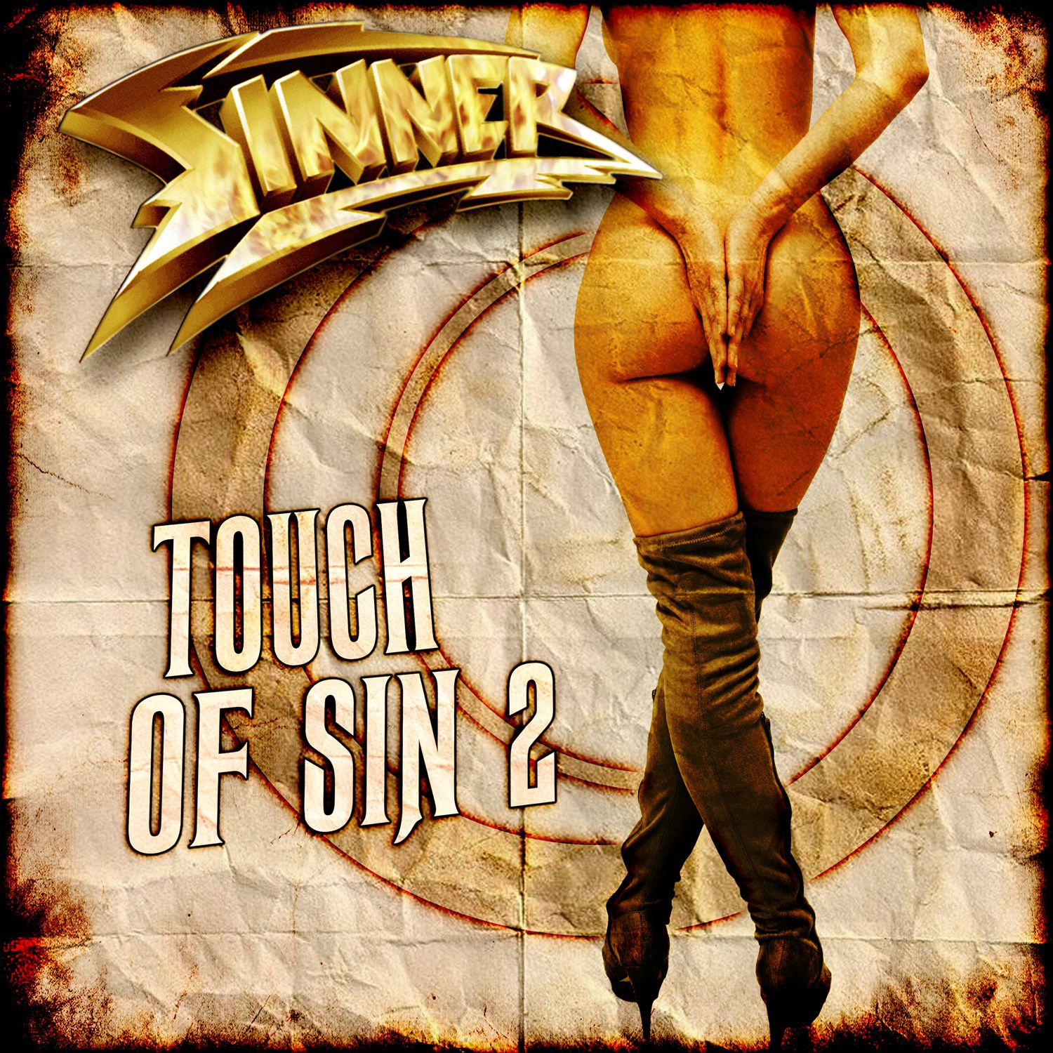 CD review SINNER &quot&#x3B;Touch of sin 2&quot&#x3B;