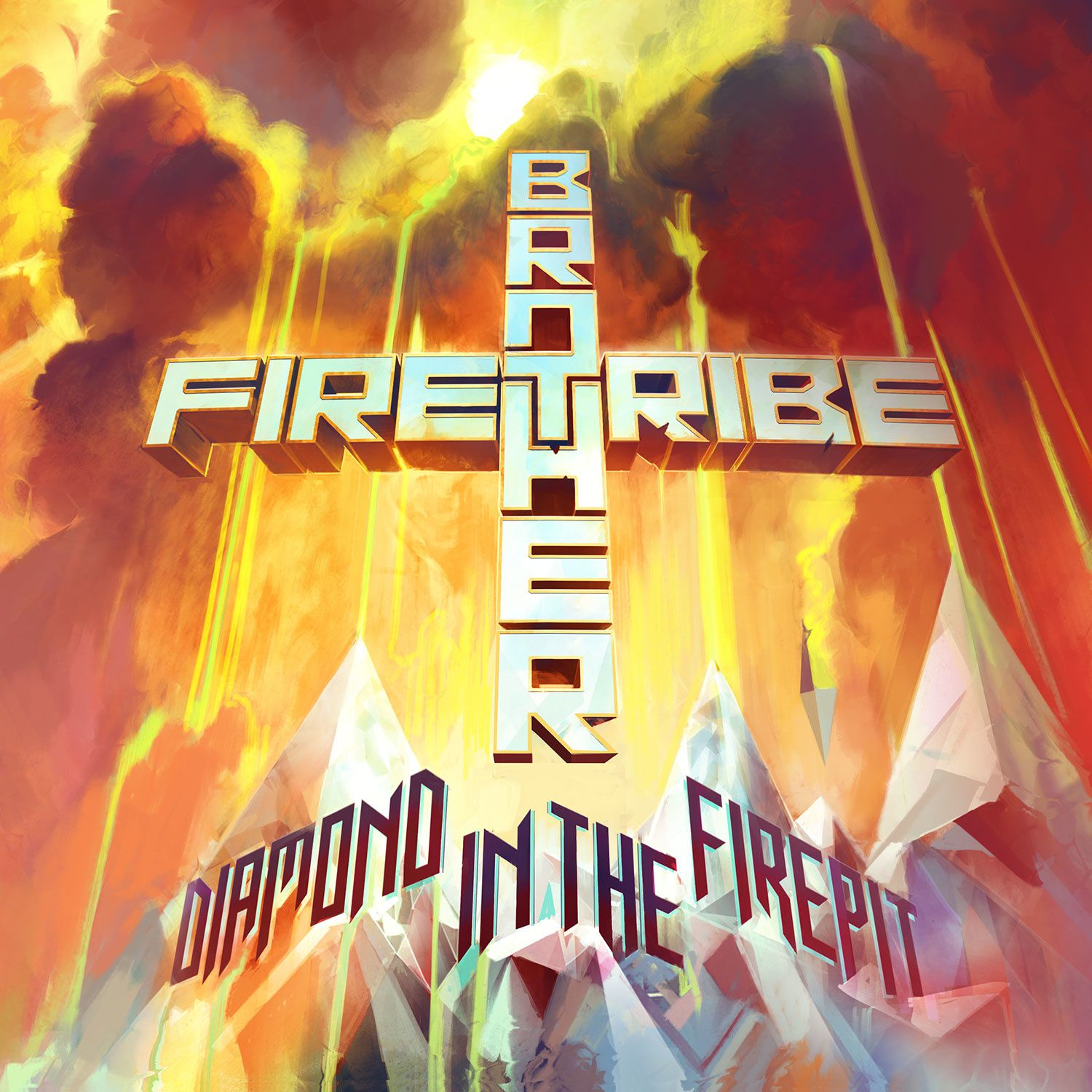 CD review BROTHER FIRETRIBE &quot&#x3B;Diamond in the firepit&quot&#x3B;