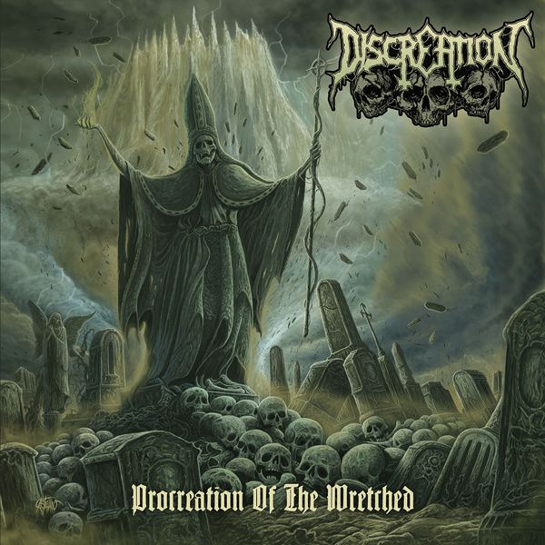 CD review DISCREATION &quot&#x3B;Procreation of the wretched&quot&#x3B;