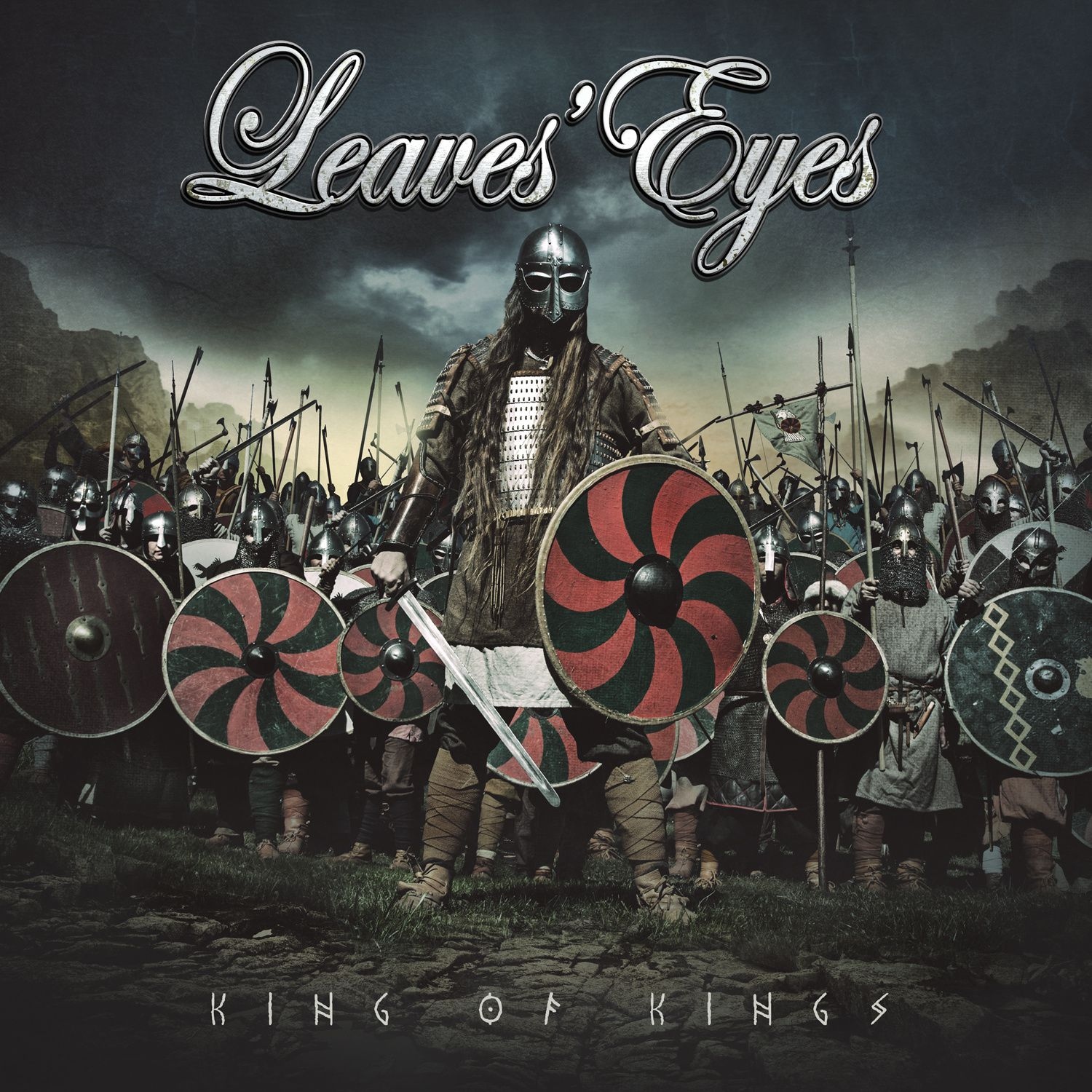 CD review LEAVES' EYE &quot&#x3B;King of Kings&quot&#x3B;