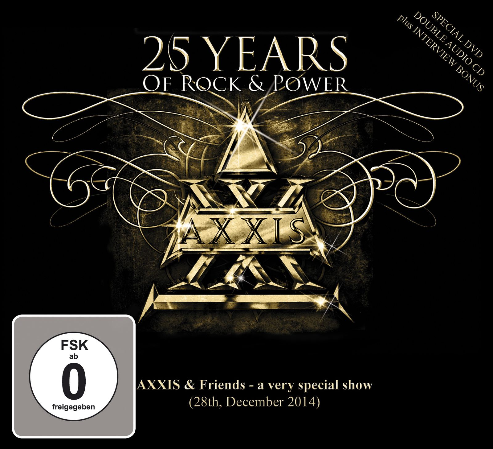 CD review AXXIS &quot&#x3B;25 Years Of Rock &amp&#x3B; Power&quot&#x3B;