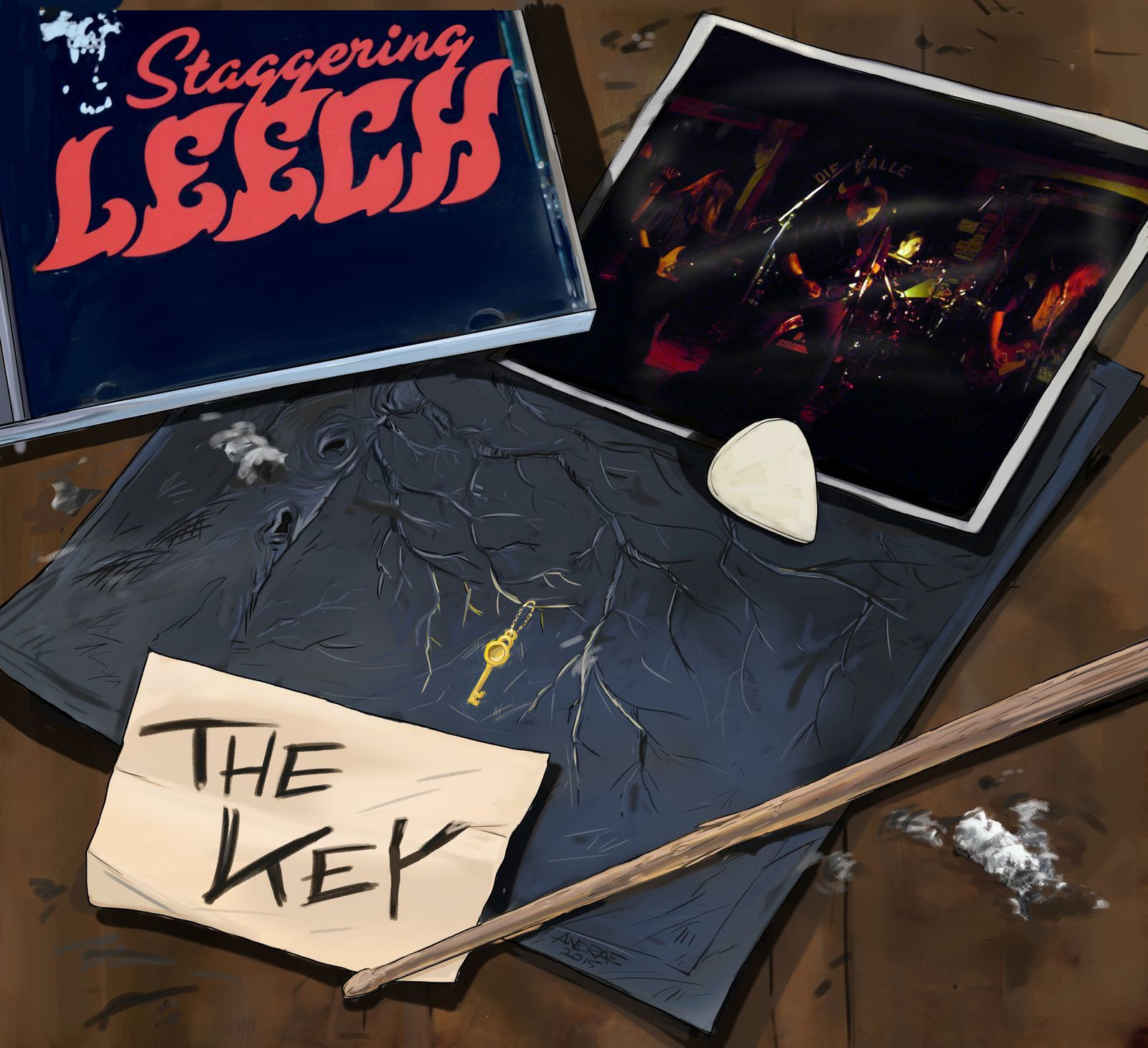 CD review STAGGERING LEECH &quot&#x3B;The key&quot&#x3B;