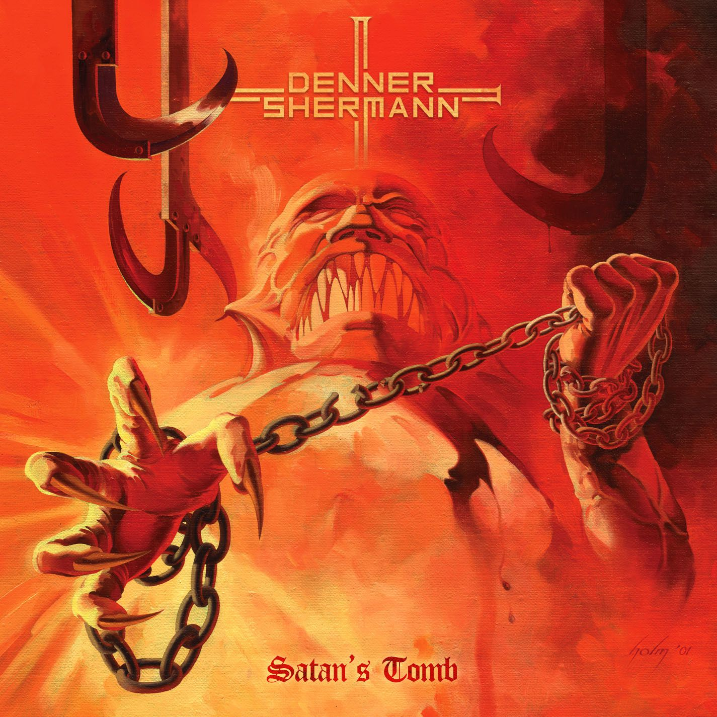 CD review DENNER/SHERMANN &quot&#x3B;Satan's Tomb&quot&#x3B;