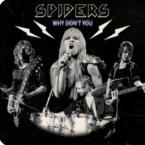 CD review SPIDERS &quot&#x3B;Why Don't You&quot&#x3B; EP