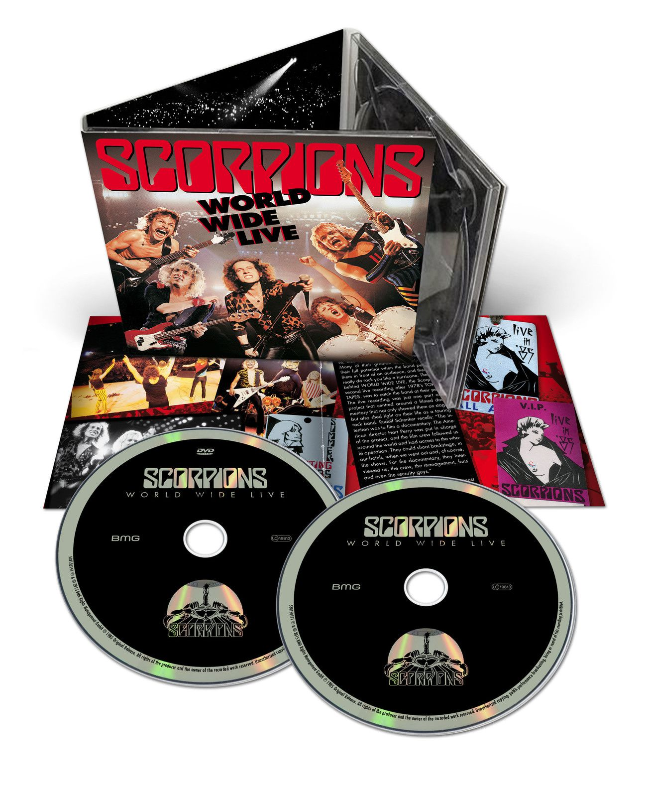 CD review SCORPIONS &quot&#x3B;World Wide Live&quot&#x3B; 50th Anniversary Edition