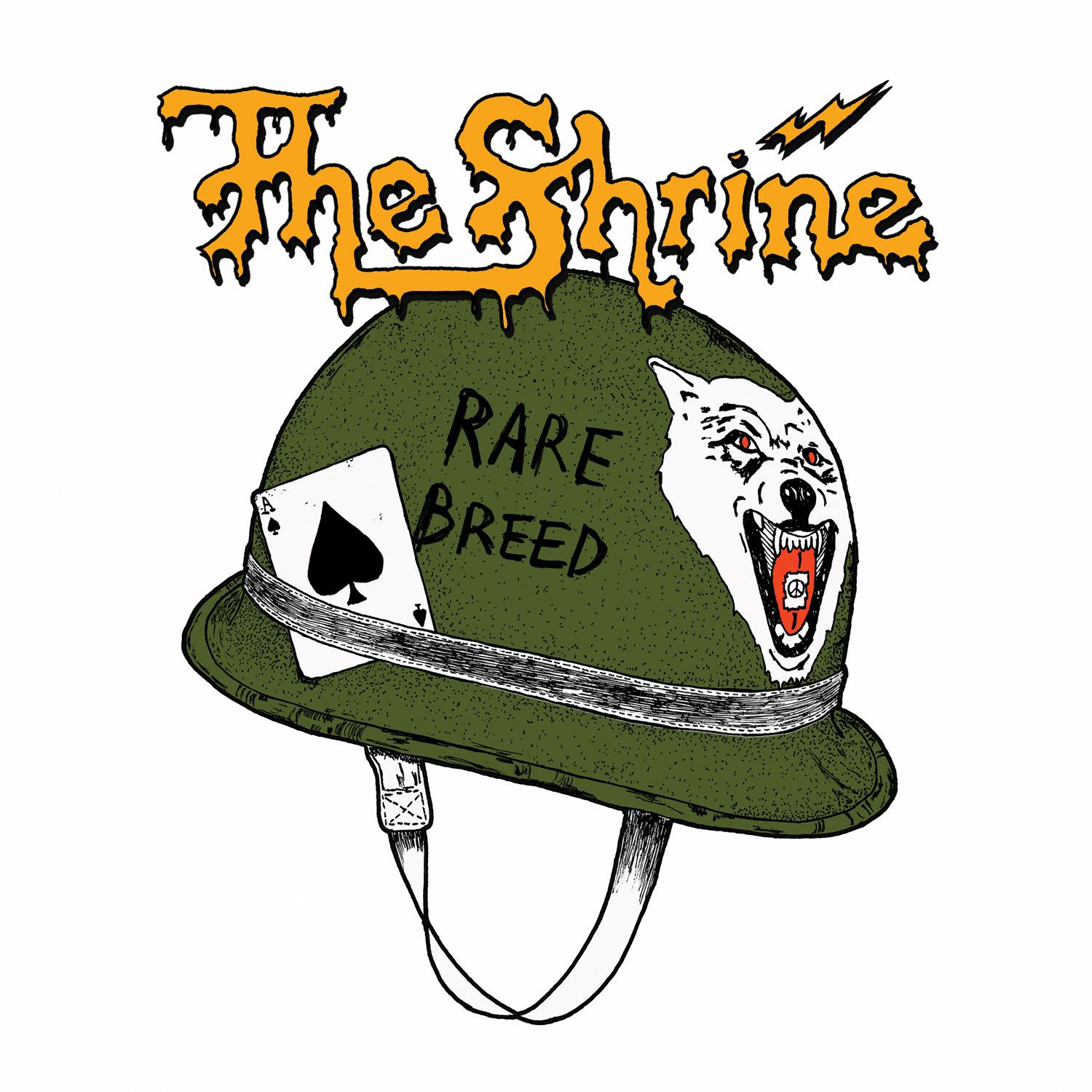CD review THE SHRINE &quot&#x3B;Rare Breed&quot&#x3B;