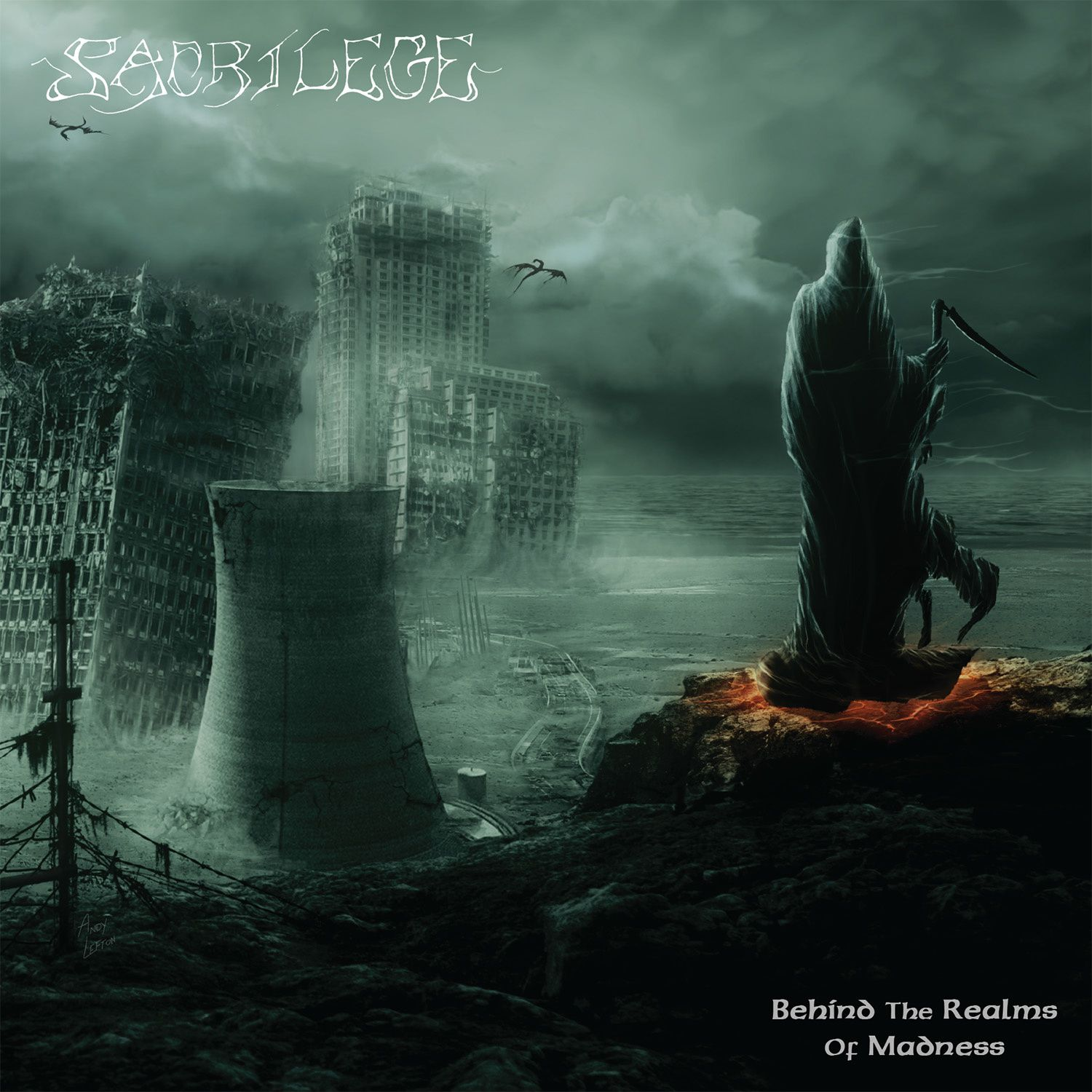 CD review SACRILEGE &quot&#x3B;Behind The Realms of Madness&quot&#x3B;