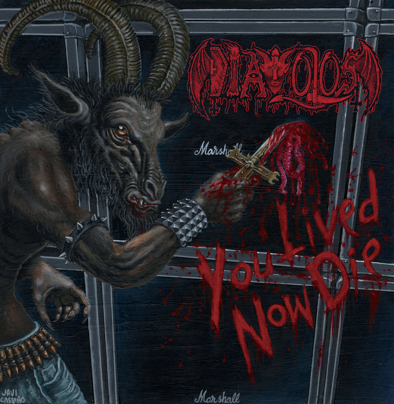 CD review DIAVOLOS &quot&#x3B;You Lived, Now Die&quot&#x3B;