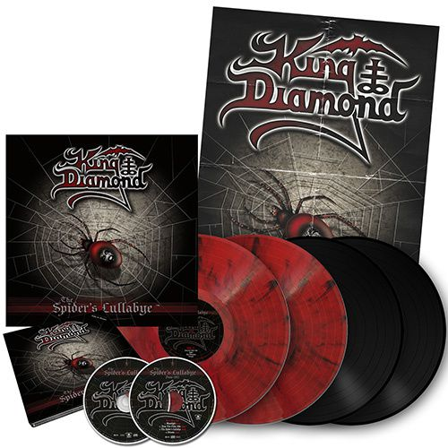 Metal Blade re-issues KING DIAMOND's &quot&#x3B;The Spider's Lullabye&quot&#x3B;
