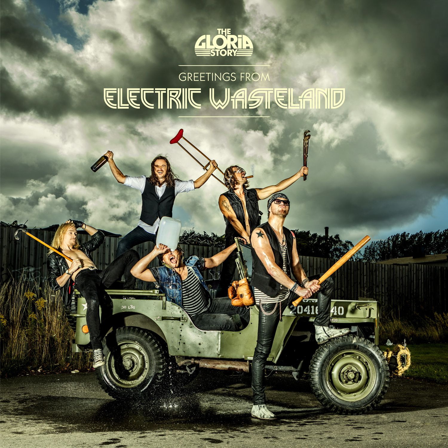 CD review THE GLORIA STORY &quot&#x3B;Greeting From Electric Wasteland&quot&#x3B;