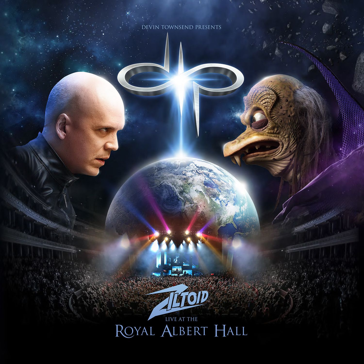 CD/DVD review DEVIN TOWNSEND presents: &quot&#x3B;Zilthoid Live at the Royal&quot&#x3B;