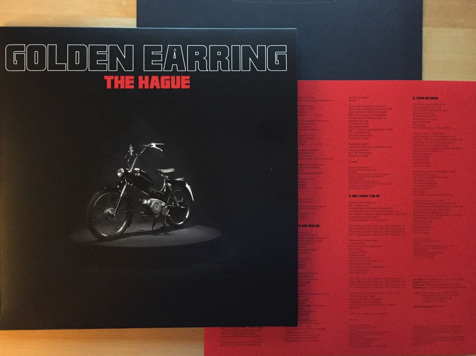 CD review GOLDEN EARRING &quot&#x3B;The Hague&quot&#x3B;