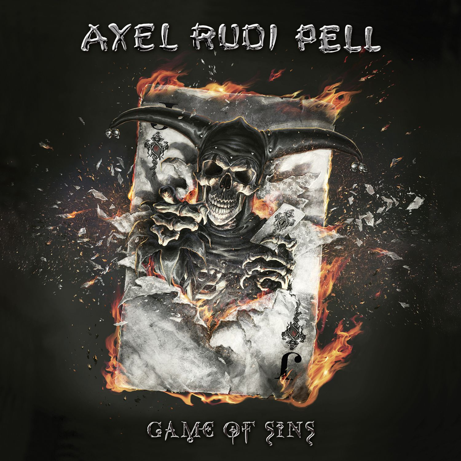 CD review AXEL RUDI PELL &quot&#x3B;Game of Sins&quot&#x3B;
