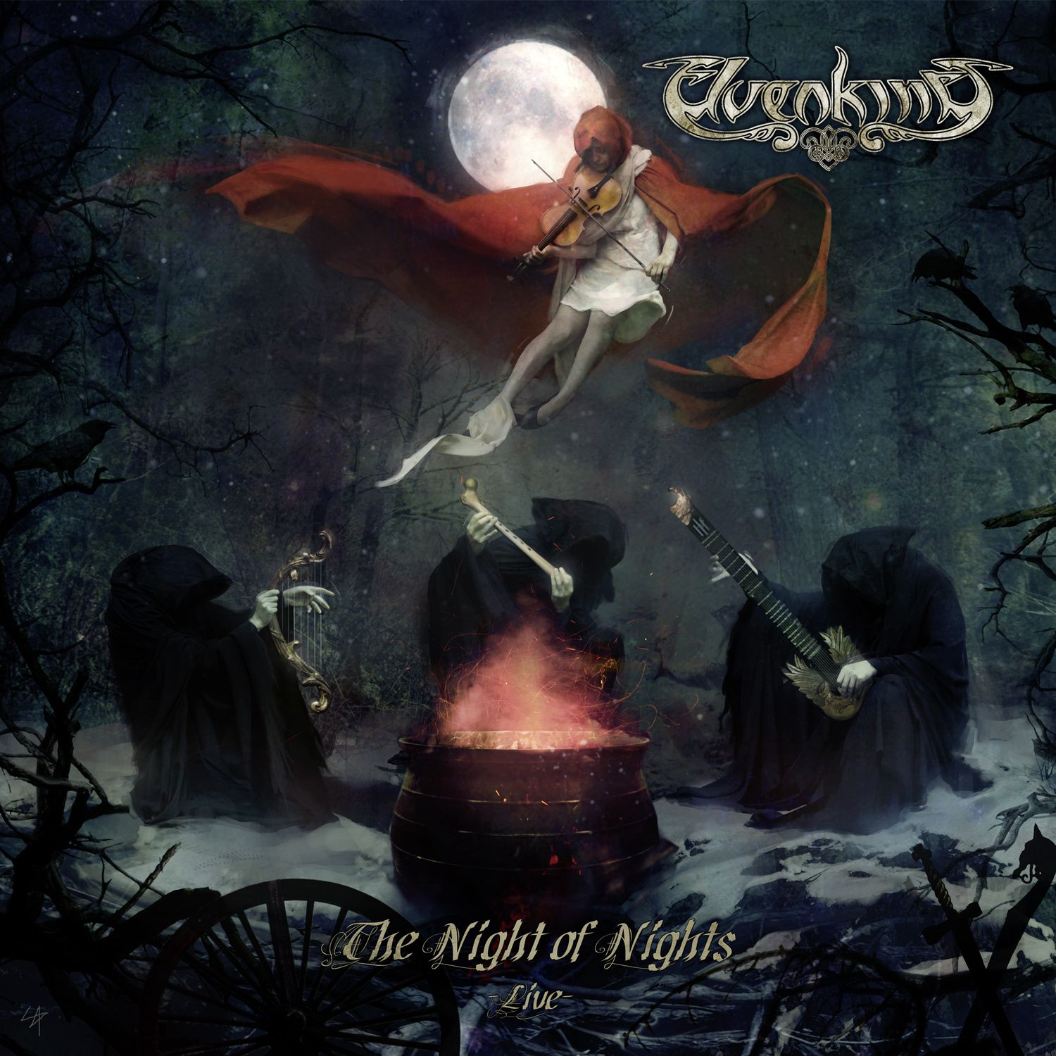 CD review ELVENKING &quot&#x3B;The Night of the Nights (Live)&quot&#x3B;