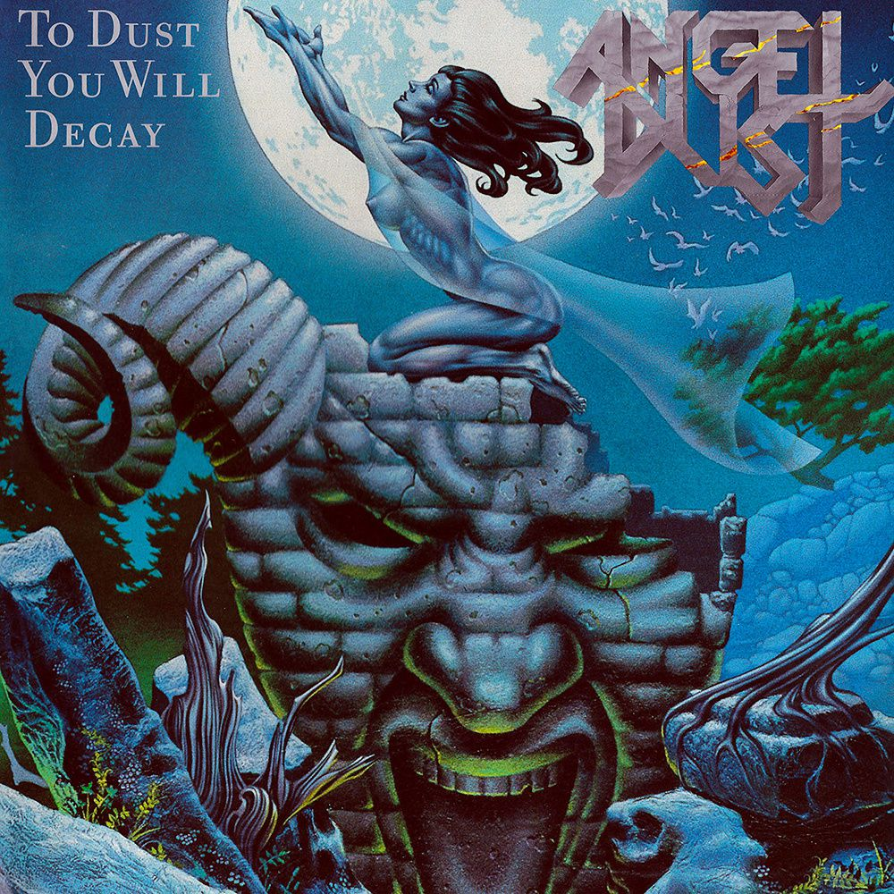CD review ANGEL DUST &quot&#x3B;Into the Dark Past&quot&#x3B; (reissue) / To Dust You Will Decay&quot&#x3B; (reissue)