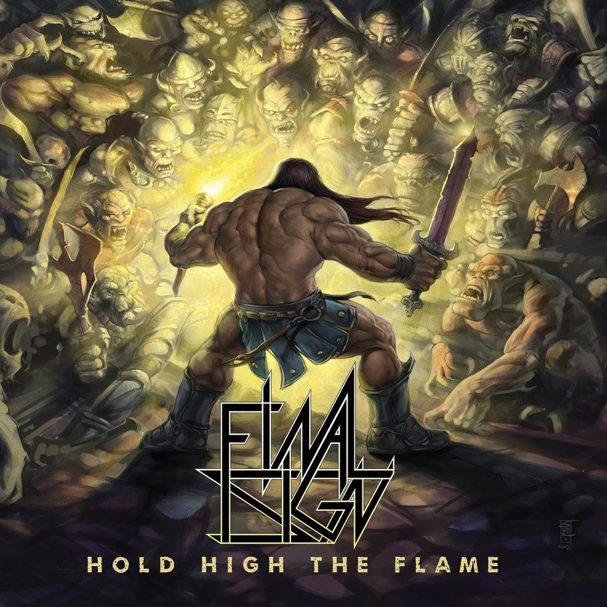 CD review FINAL SIGN &quot&#x3B;Hold High the Flame&quot&#x3B;