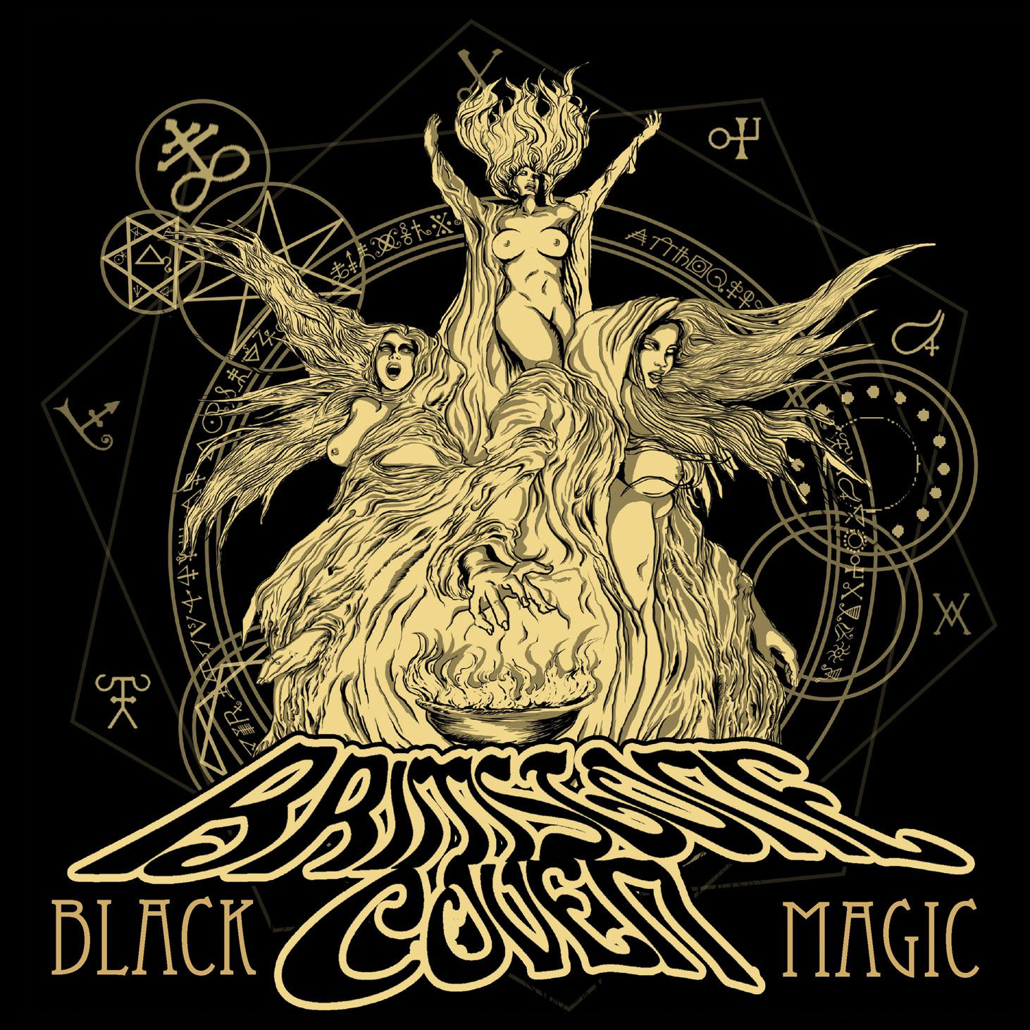 CD review BRIMSTONE COVEN &quot&#x3B;Black Magic&quot&#x3B;