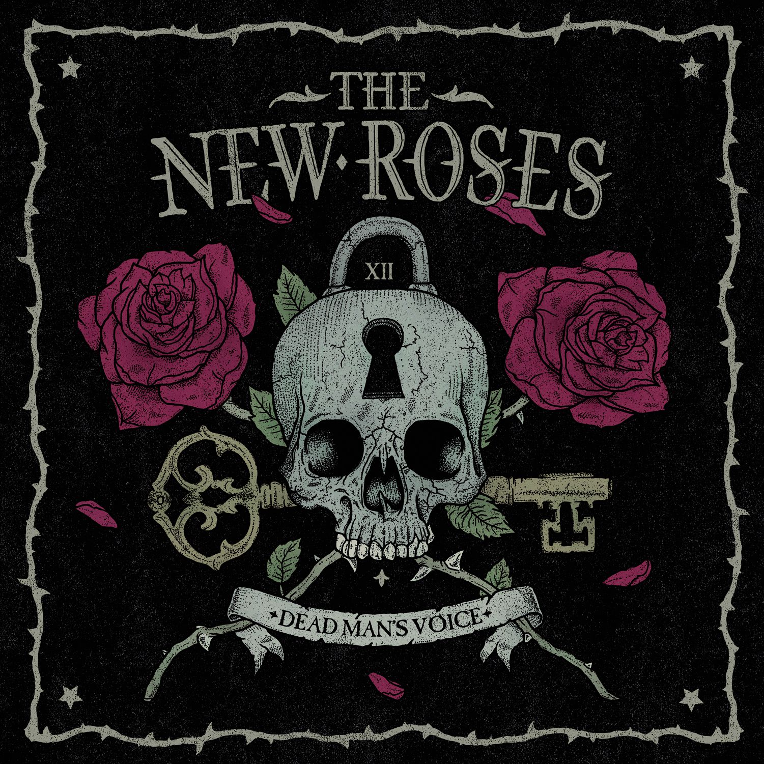 CD review THE NEW ROSES &quot&#x3B;Dead Man's Voice&quot&#x3B;