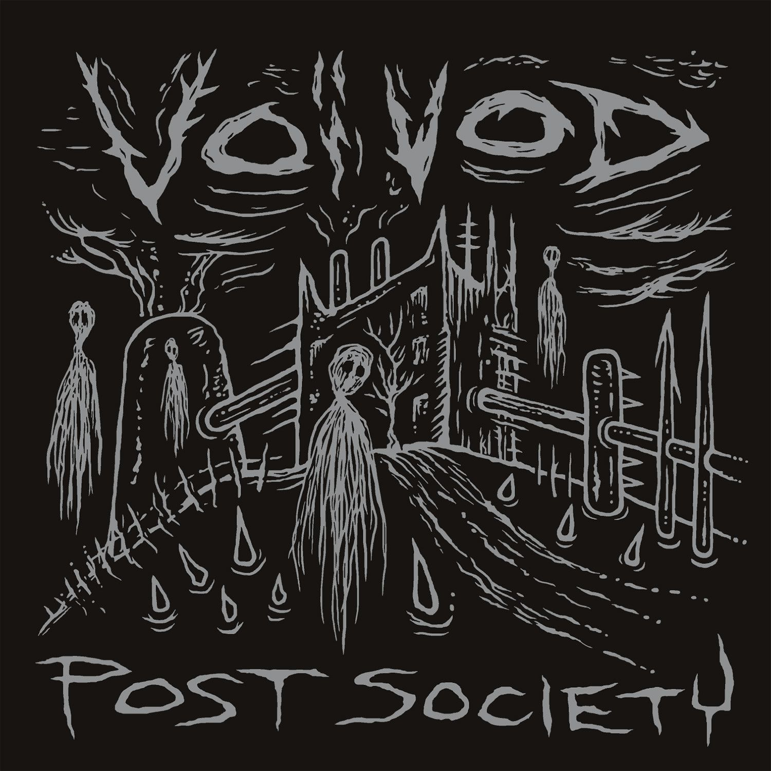 CD review VOIVOD &quot&#x3B;Post Society&quot&#x3B;