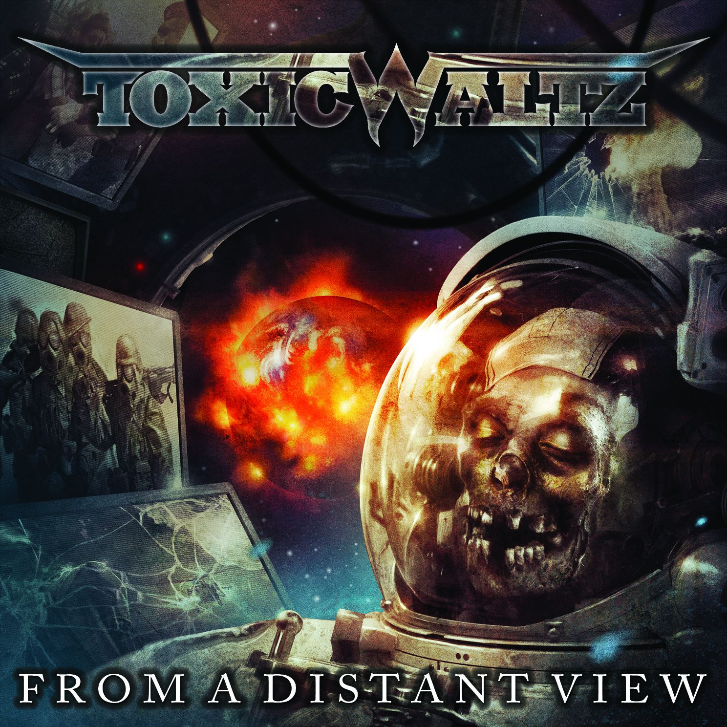CD review TOXIC WALTZ &quot&#x3B;From a Distant View&quot&#x3B;