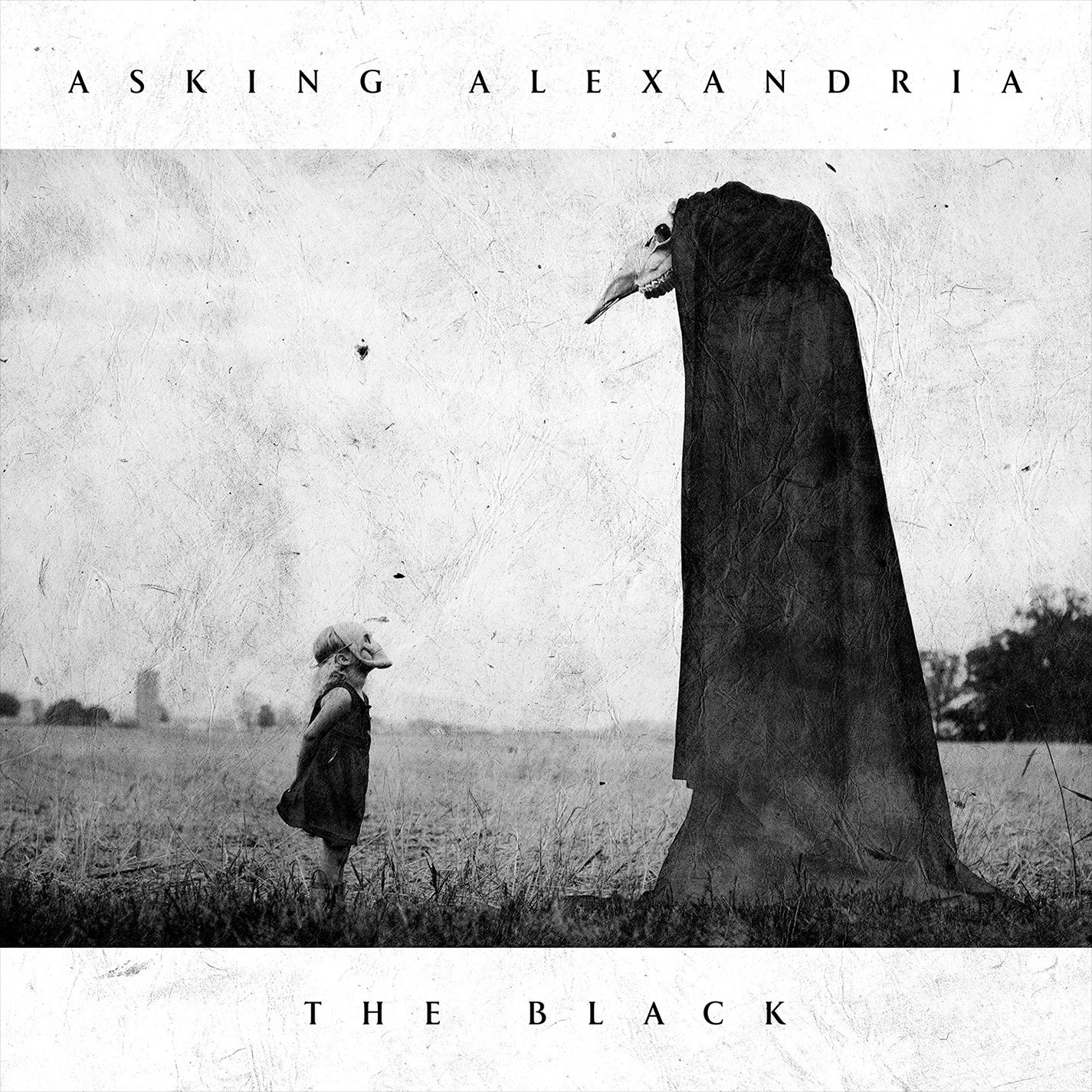 CD review ASKING ALEXANDIA &quot&#x3B;The Black&quot&#x3B;