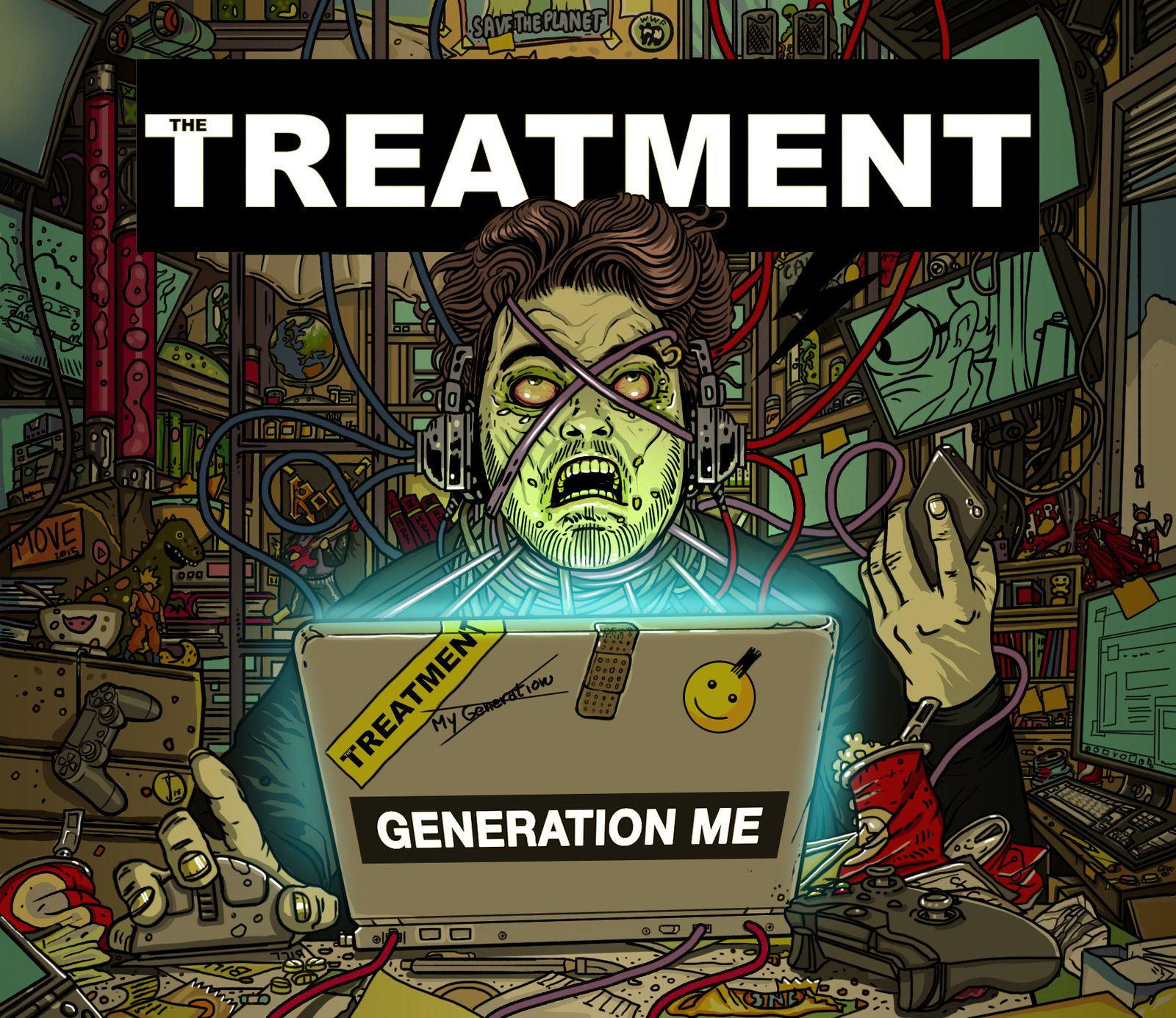 CD review THE TREATMENT &quot&#x3B;Generation Me&quot&#x3B;