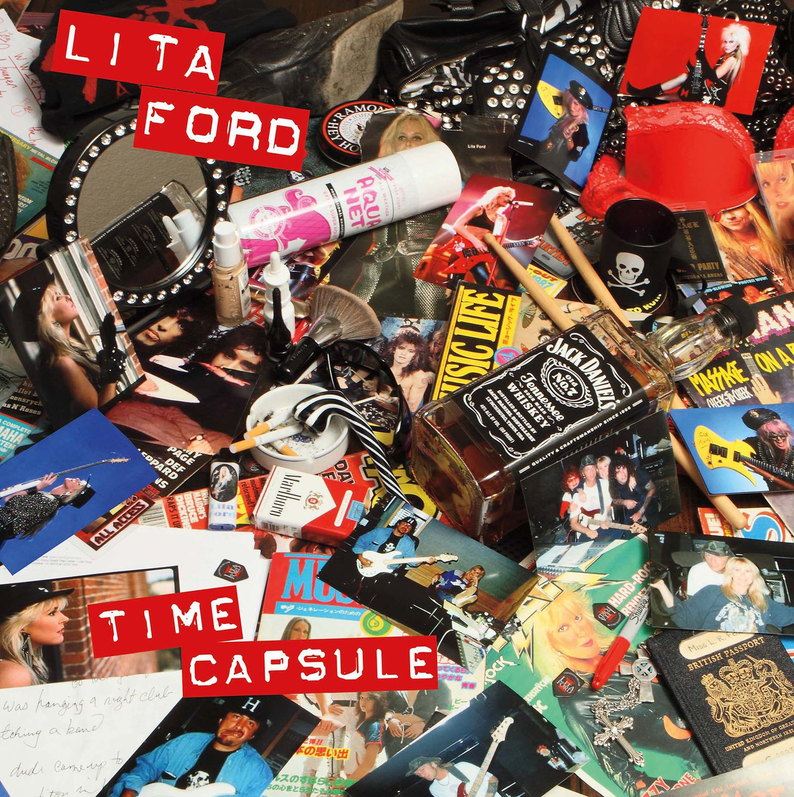 CD review LITA FORD &quot&#x3B;Time Capsule&quot&#x3B;