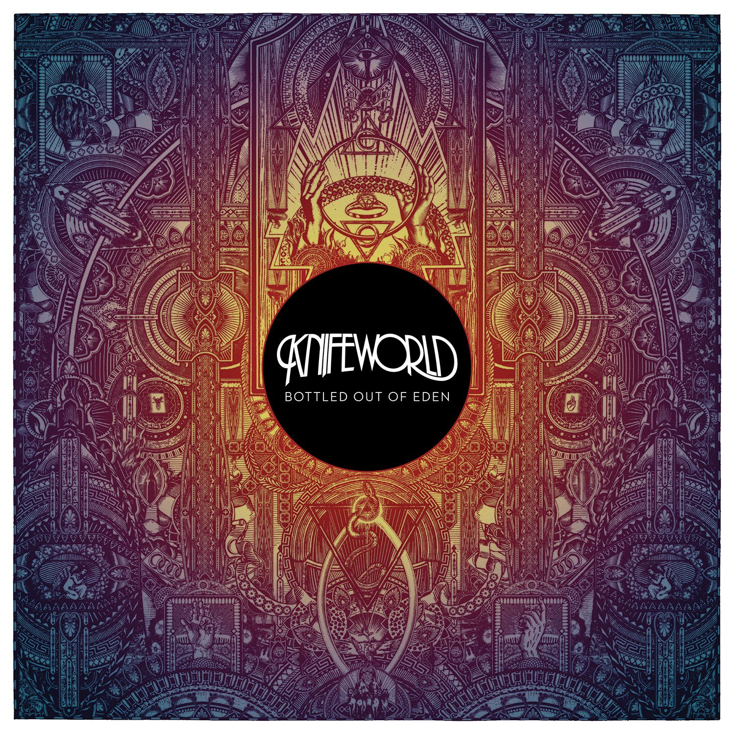 CD review KNIFEWORLD &quot&#x3B;Bottled Out Of Eden&quot&#x3B;