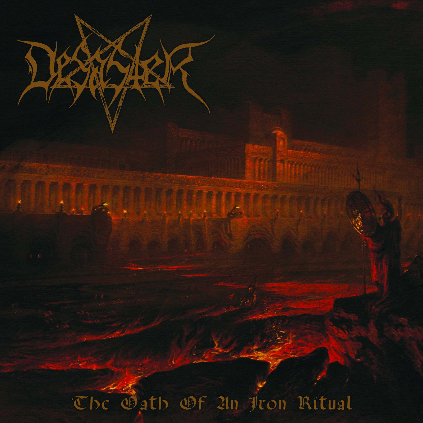 CD review DESASTER &quot&#x3B;The Oath of an Iron Ritual&quot&#x3B;