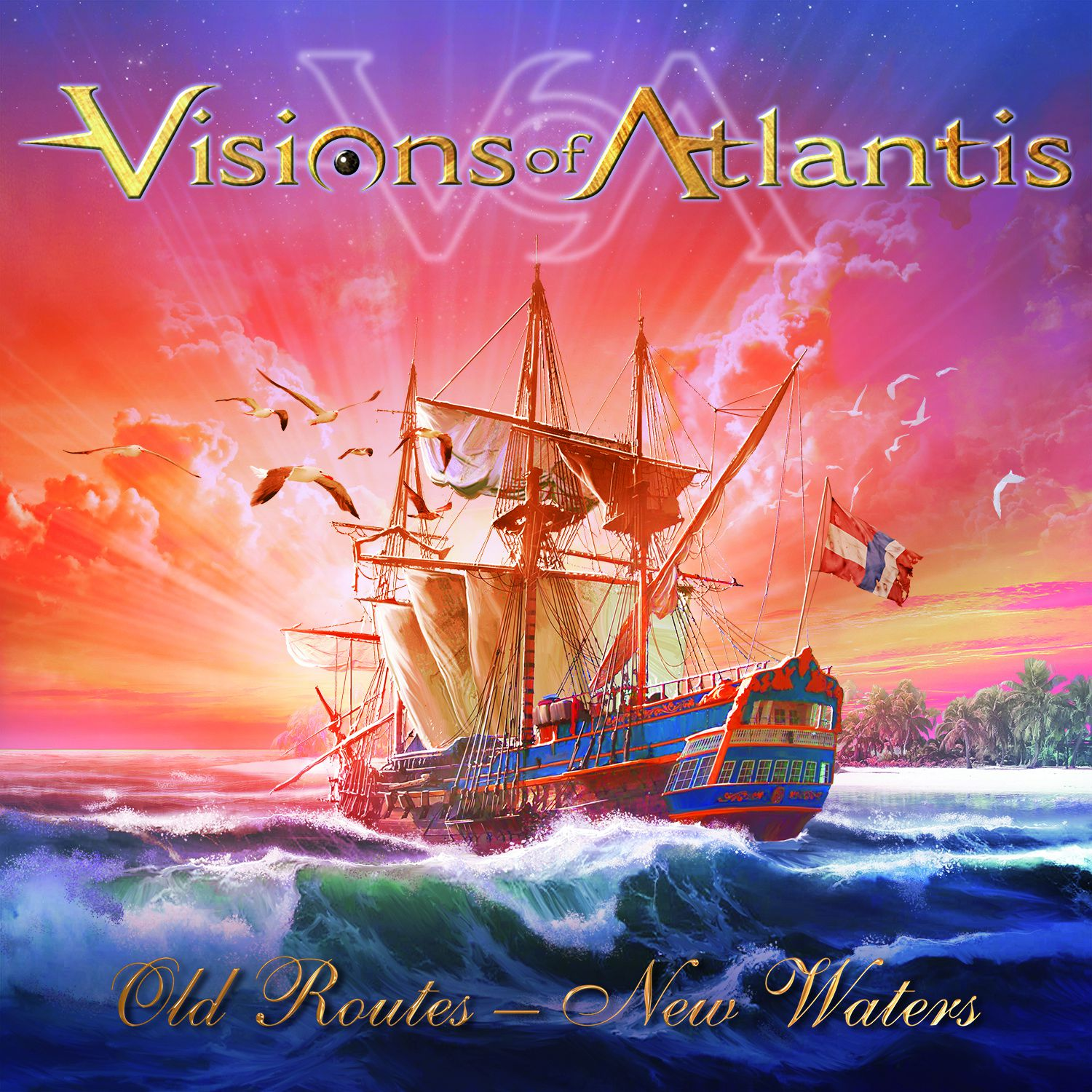 CD review VISIONS OF ATLANTIS &quot&#x3B;Old Routes - New Waters&quot&#x3B;