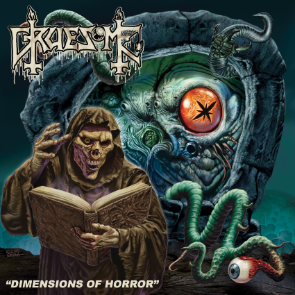 CD review GRUESOME &quot&#x3B;Dimension of Horror&quot&#x3B; EP