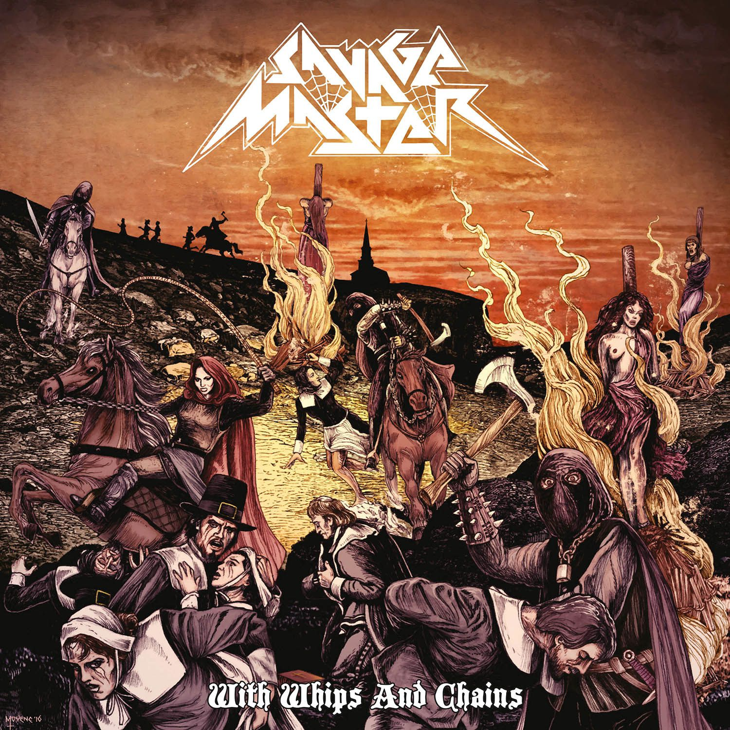 CD review SAVAGE MASTER &quot&#x3B;With Whips and Chains&quot&#x3B;